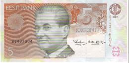 Estonia - Pick 76 - 5 Krooni 1994 - Unc - Estonia
