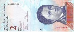Venezuela  - Pick 88d - 2 Bolivares 2012 - Unc - Venezuela
