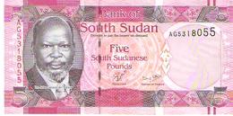 South Sudan - Pick 6 - 5 Pounds 2011 - Unc - Soudan Du Sud