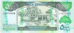 Somaliland - Pick 21 - 5000 Shillings 2011 - Unc - Somalia