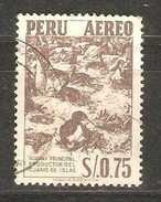 Peru - 1953 Cormorants Used  Sc C116 - Peru