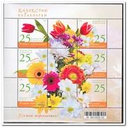 Kazachstan 2008, Postfris MNH, Flowers - Kazachstan