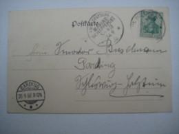 1902   , Marineschiffpoststempel  Nr. 43  , Karte Aus KOBE - Deutschland