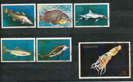 Vignette-  Briefmarken Sealand  Gestempelt - Vignetten (Erinnophilie)