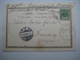 1901   , Marineschiffpoststempel  Nr. 9  ?  , Karte Aus  Kamerun - Kolonie: Kamerun