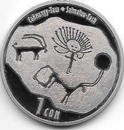 *kyrgyzstan 1 Som 2013  Km  New  Conmanyy Taw  Bu - Otros – Asia