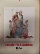 Kalender Calendrier 1956 - Missies Missions De Scheut - China Afrika - Calendriers