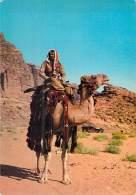 ASIE Asie - JORDANIE Jorda - Lot De 2 CPSM CPM : Camels Of Jordan - Chameaux De Jordanie - - Jordan