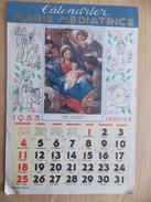 Kalender Calendrier 1953 - Devotie Devotion - Marie Médiatrice - Calendriers
