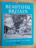 Kalender Calendrier Calendar 1962 - Beautiful Britain - Country Life - Calendriers