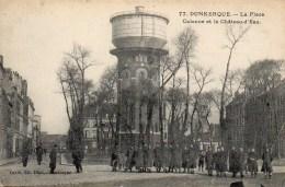59 DUNKERQUE  La Place  Calonne Et Le Château D'eau - Dunkerque
