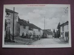 CPA 70 VAUVILLERS Rue De La Harpe ANIMEE Canton JUSSEY - Autres Communes