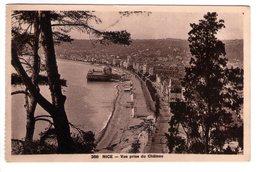 S2082 SMALL POSTCARD: [06] Alpes Maritimes > Nizza - Nice, Vue Prise Du Chateau  _  NOT WRITED - Nizza