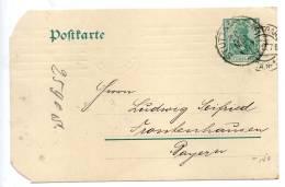 DR Private Postkarte PP 27  STUTGART - FRONTENHAUSEN 20. Mai 1910 - Allemagne