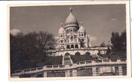 S2084 Vera Fotografia Su Cartolina Formato Piccolo - Ed. FERRANIA - PARIS ,BASILIQUE DU SACRE COEUR - Places