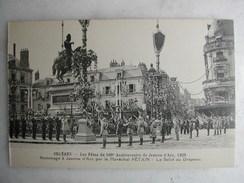 SCENES ET TYPES - ORLEANS - Les Fêtes Du 500è Anniversaire De Jeanne D'Arc 1929 - Hommage Par Le Maréchal Pétain - Other