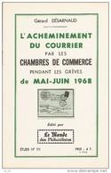 L'acheminement Du Courrier Par Les Chambres De Commerce En 1968 - Etude N°111 Du Monde Des Philatelistes - 12 Pages - Littérature
