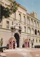 G , Cp , PRINCIPAUTÉ De MONACO , La Garde Princière Devant Le Palais - Palais Princier