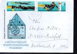 DDR   Lettre Plongée Sous Marine