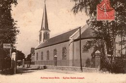 (8) CPA  Aulnay Sous Bois  Eglise St Joseph  (Bon  Etat) - Aulnay Sous Bois