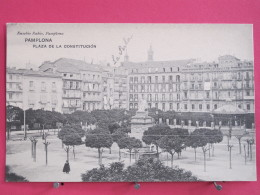 Espagne - Pamplona - Plaza De La Constitucion - Excellent état - Scans Recto-verso - Navarra (Pamplona)