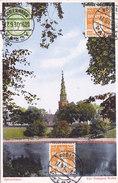 Kobenhavn - Vor Freisers Kirke (colors, 1930, Tryksager, R O K, Stamps) - Danemark