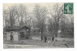 LIBOURNE  (cpa 3)  Champ De Foire Pour Le Bétail - OCTROI -    - L 1 - Libourne
