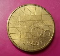 Netherlands 5 Gulden 1988 - 1980-…: Beatrix