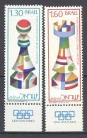 ISRAEL 1976: YT 623 - 624 / Sc 609 - 610 / Mi 685 - 686, ** MNH - FREE SHIPPING ABOVE 10 EURO - Neufs (avec Tabs)