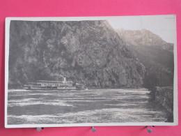 Visuel Très Peu Courant - Roumanie - Orsova - Bateau Uransus Sur Le Danube ? - Scans Recto-verso - Roumanie