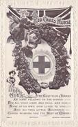 To A Red Cross Nurse (gratitude Card, Beagles, Bord Fleuri Gaufré, Top Condition) - Croix-Rouge