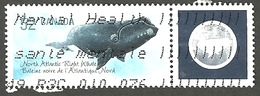Sc. # 2229a Endangered Species Right Whale, Ex. Souvenier Sheet Single Used 2007 K1090 - 1952-.... Règne D'Elizabeth II