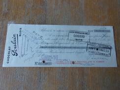 CHOCOLAT POULAIN (1949) BLOIS - Bills Of Exchange