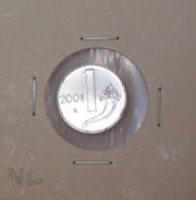 Repubblica Italiana 1 Lira 2001 RARA - FDC - UNC - 1 Lira