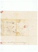 LETTRE AVEC TEXTE DE CERENTINO ITALIE POUR BESANCON 1813 MARQUE D'ENTREE SUISSE PAR HUNINGUE  BS - 1801-1848: Vorläufer XIX