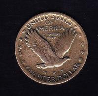 USA KM 145  1930 UNC,  (B296) - 1916-1930: Standing Liberty (Libertà In Piedi)