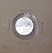 Repubblica Italiana 2 Lire 2001 RARA - FDC - UNC - 2 Lire