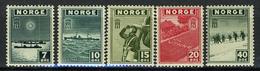 1943 - NORVEGIA - Mi. Nr. 277-.. - NH - (CW2427.13)