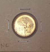 Repubblica Italiana 20 Lire 2001 RARA - FDC - UNC - 20 Lire