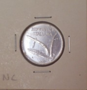 Repubblica Italiana 10 Lire 2001 RARA - FDC - UNC - 1946-… : Repubblica