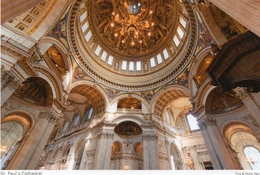 Postcard - St. Paul's Cathedral, London. 2017 - St. Paul's Cathedral