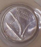 Repubblica Italiana 10 Lire 2000 RARA - FDC - UNC - 1946-… : Repubblica