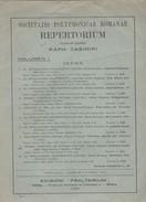 Libro Societatis Polyphonicae Romanae Repertorium. - Libri, Riviste, Fumetti