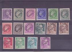 FRANCE    PREO   LOT ENTRE 80 ET 102   NEUFS SANS  CHARNIERE - 1893-1947