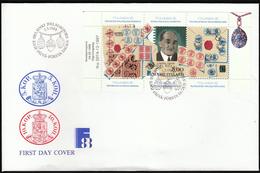 Finland 1988 / FINLANDIA 88 World Stamp Exhibition / Cancels / Stamps / Agathon Faberge / Egs - Philatelic Exhibitions