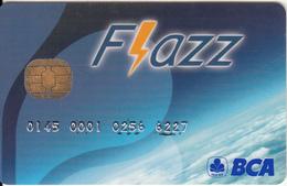 INDONESIA - BCA(Bank Central Asia) Flazz Card, Used - Geldkarten (Ablauf Min. 10 Jahre)