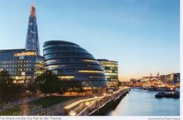 Postcard - The Shard & City Hall, London. 2017