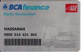 INDONESIA - BCA(Bank Central Asia) Finance Customer Card, Used - Cartes De Crédit (expiration Min. 10 Ans)
