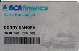 INDONESIA - BCA(Bank Central Asia) Finance Customer Card, Used - Geldkarten (Ablauf Min. 10 Jahre)