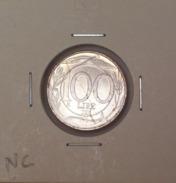 Repubblica Italiana 100 Lire 2001 RARA - FDC - UNC - 1946-… : Repubblica